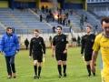 Sodniki Roman Glažar, Gabrovec David in Burjan Aleksander na tekmi 1. SNL Domžale - Krško
